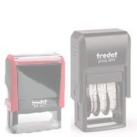 Replacement ink pad<br>Trodat  4910 / 4810 - Pack of 2