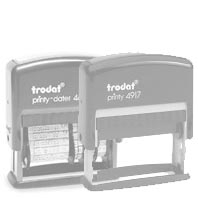 Replacement ink pad Trodat  4817 ou 4917 - Pack of 2